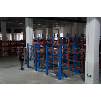 山东移动式管材货架 重载货架用料 放管材的架子定做