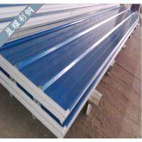 上海彩钢夹芯板 厂家直销彩钢聚苯夹心彩钢板