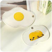 0310荷包蛋卡包 可爱创意卡套 学生儿童公交卡套 包零钱包带挂绳