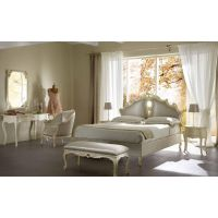 CANTORI家具意大利地中海风格客厅实木餐桌椅卧室双人床