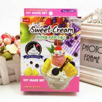 仿真奶油胶套装蛋糕粘土食玩果酱套装儿童手机diy制作玩具模具批