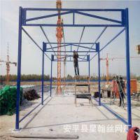 唐山建筑工地钢筋加工棚 北京通州木工加工棚 基坑工地防护网厂家