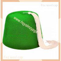 摩洛哥绿色羊毛帽Morocco green wool Cap 土耳其羊毛帽