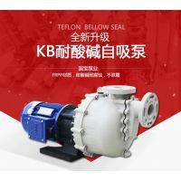 卧式离心泵价格 国宝KB系列耐酸碱自吸泵 在线选型报价