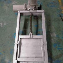 定格 QZM 600*600 钢制闸门 双向止水闸门 不锈钢插板阀