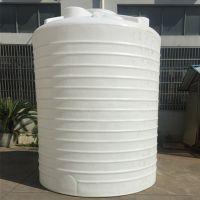 15立方抱箍塑料储罐 15吨计量泵水桶搅拌箱