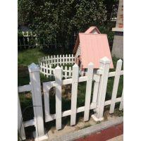 PVC隔岸护栏厂家 别墅护栏 社区护栏多少钱一米
