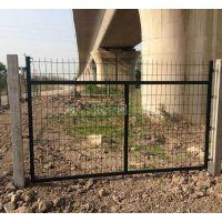 河北高速铁路线路金属网片防护栅栏厂家及铁路桥下防护栅栏价格