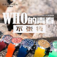宝茄达 定制高档经典男士商务不锈钢表壳防水石英手表 深圳艾尔时厂家OEM