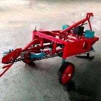 254拖拉机带的花生收获机多少钱一台 收花生的机器工作视频