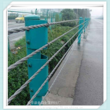 喷塑缆索防护栏@河道缆索防护栏@缆索护栏