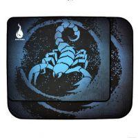 地狱火HELL盒装蝎子王 LOL CF游戏鼠标垫超大号鼠标垫操控版