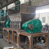 油桶撕碎机品质保证建筑垃圾金属废铁撕碎机自动