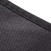 无纺布单层拉链礼服大衣服装保护旅游盖衣架保护防尘罩100*60cm