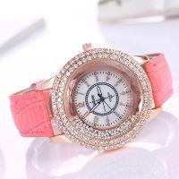 速卖通爆款欧美热销时尚满钻流沙女款手表女士腕表镶钻女士手表