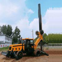 路面设备旋挖钻机 厂家直销轮式旋挖钻机