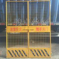 工地施工防护门 绿色喷塑基坑防护网 加工定做优质围栏