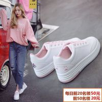 平底小白鞋女学生百搭韩范ins超火的鞋子2018新款纯色chic运动鞋