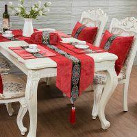 欧式美式桌旗新古典现代中式高档奢华餐桌旗茶几桌旗定制