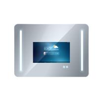 鑫飞XF-GG22MM 22寸防水镜面广告机触摸屏电视触摸一体机美发化妆洗手台智能魔镜可定制