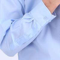 莫代尔抗皱易打理上衣衬衫纯棉修身免烫正装衬衣面试潮流帅气寸衫