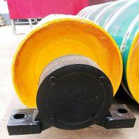 厂家直销 鑫昌鑫 碳钢无动力滚筒DT75型传动滚筒 皮带输送机主动滚筒