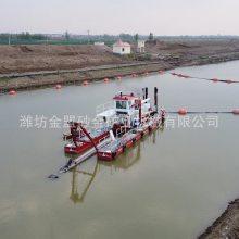 沧州8寸绞吸清淤船可排距两公里使用四百马力潍柴发动机