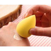 黄色BB霜粉底泡水澎涨水滴粉扑非乳胶维生素E材质