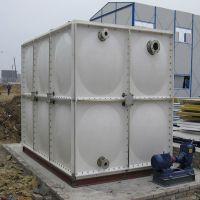 厂家直销SMC玻璃钢组合式水箱方形玻璃钢模压水箱组合式拼装水箱