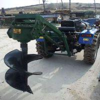 栽树植树挖坑机 启航好用的汽油挖坑机 耐用新款地钻机厂家