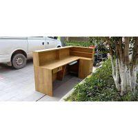 供应合肥定做公司前台桌 前台桌 板式简约吧台 水吧桌面