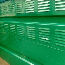 连州高速公路耐力板全透明隔音屏障规格 小区彩钢板弧形声屏障