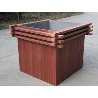 河南园区景观木塑花箱,河南园区景观花箱厂家