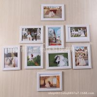 7寸婚纱照相框挂墙欧式洗照片加相框大卧室结婚照客厅装饰欧式简