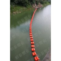 环保水上拦截网浮筒 隔离水面漂浮物垃圾厂家