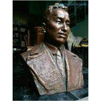 青岛玻璃钢人物雕塑 玻璃钢人物半身像雕塑