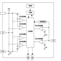 供应嘉泰姆CXPR7127驱动IC 2节串联锂离子锂聚合物再充电电池的保护IC电压检测电路延时电路