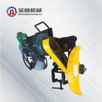 山东省煤矿工人好帮手DQG-4.0型电动切轨机 轨道设备电动锯轨机