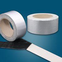 单面铝箔隔热抗老化防水丁基胶带