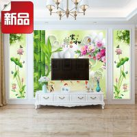 一件代发8D电视背景墙纸壁纸 3d立体无缝墙布大型壁画现代中式家