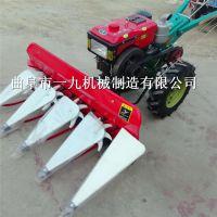 畅销手扶式割嗮机微型稻麦联合收割机各种养殖牧草割晒机