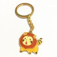 动物头像钥匙扣韩国可爱卡通汽车挂饰金属钥匙圈钥匙扣