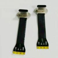 TYPE-C无线充电公头 4PIN/单充电/FPC软排线/长度可定制/套热缩管/快充插头