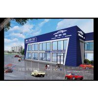 郑州汽车4S店装修设计的目的是卖车 |专业汽车展厅装修公司