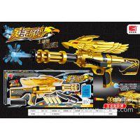 XH082雄海手动黄金战鹰水弹枪 水弹枪 战鹰软弹枪 两用玩具水弹枪