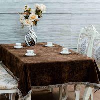 一件代发现代中式欧式桌布奢华中国风餐桌茶几电视柜布艺定制