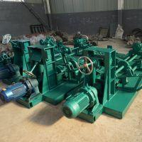 北华环保大型电动翻边机 剪切机 不锈钢板折边机、锥形桶翻边机