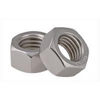 厂家现货供应304不锈钢化工六角螺母HC20634 钢质管用六角螺母 厂家直销