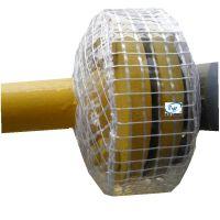 PVC圆形法兰防护罩 法兰保护罩 透明法兰保护罩 形状美观