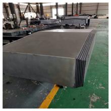 轧辊车床导轨钢板防护罩机床拉板伸缩钢板防护罩